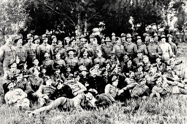 New South Wales Lancers in South Africa